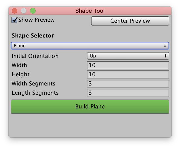 ProBuilderShapeToolWindow