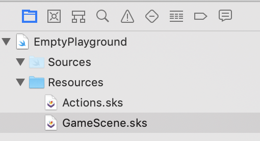 Finding Game Scene File